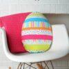 Gối tựa lưng hình quả trứng
